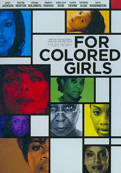 FOR COLORED GIRLS BY JACKSON,JANET (DVD)